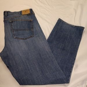 Lucky Brand 361 Vintage Straight Jeans 38x34